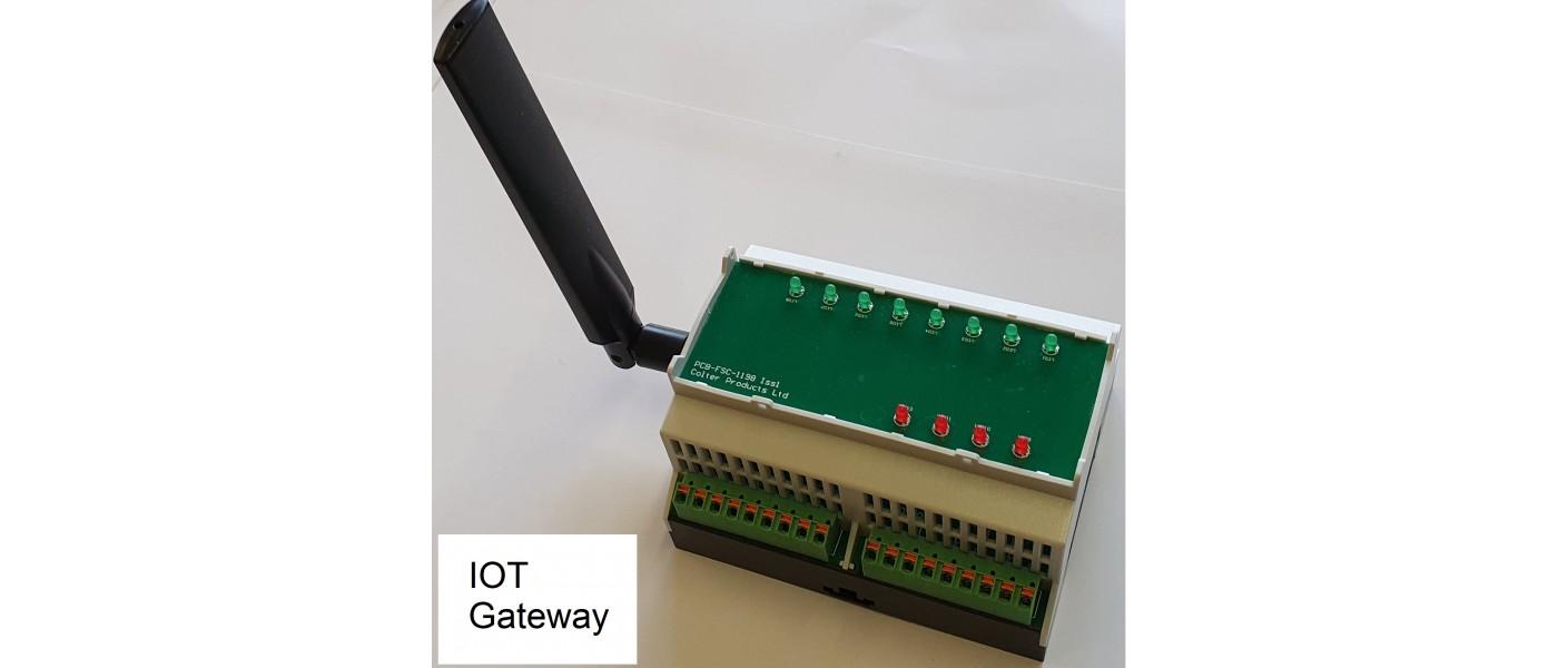 DIN Rail IOT Gateway