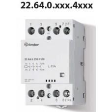 Modular Contactor 22 Series, 22.64.0024.4310