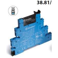 Relay Interface Module. 38 Series, 38.81 Single SSR Output