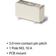 Relay, 43 Series, Low Profile PCB
