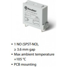Relay, Miniature, 45 Series,45.71.7. PCB