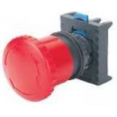 Emergency Stop, Mushroom Head Button, NP8 M/14, Red, 40mm Non Illuminated