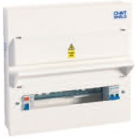 Consumer Unit -NX3-16S-SPD1/2, RCD 4 + 4 empty way Metal Enclosed Unit with Surge Protection Device