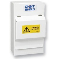 Consumer Unit - NX3-4-100SPD1/2 Steel Enclosure with Main Switch & Type 1+ 2 SPD