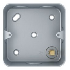 Back Box, Metal Clad 40mm, SM4001/2